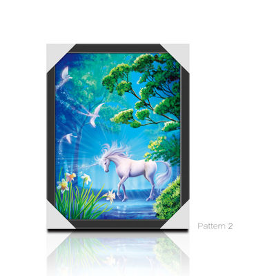 CMYK Printing Image 3D Lenticular Printing Service PET / PP Animal Pictures
