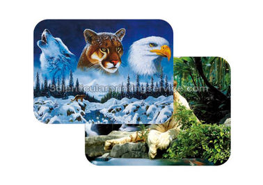Cina Waterproof Plastice 3D Lenticular Placemats Directly Printing PET pabrik