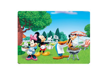 Disney / Cartoon Design Table Mat 3D Lenticular Placemats For Children Gift