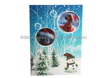Cina Lenticular Custom 3d Stickers With Offset Printing For Greeting Card pabrik